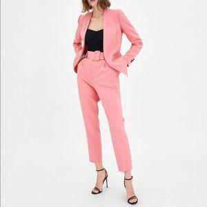 Yellow Pink High Waisted Pants